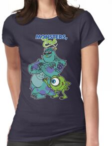 Monsters Ink Womens Fitted T-Shirt