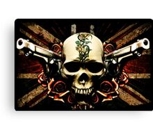 Guns & Roses Canvas Print