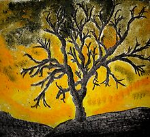 Tree Mono-type #1 by Schyljuk