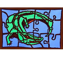 gator (pieces of the puzzle 2) Photographic Print