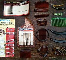 Vintage Hair Combs -  Still Life  by 082010