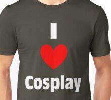 I Heart Cosplay Shirt (WHITE) Unisex T-Shirt