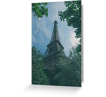 Eiffel Tower, Paris Greeting Card