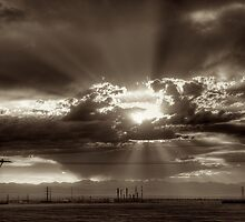 Denver Sunset by njordphoto