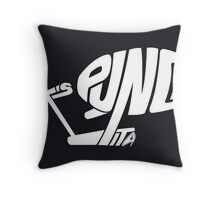 Let's punch it. Throw Pillow