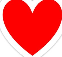 I Heart Kpop Shirt (WHITE) Sticker