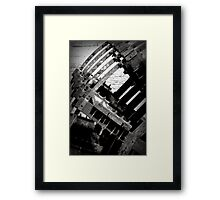 Withered Water Wheel of Willamette Framed Print