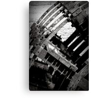 Withered Water Wheel of Willamette Canvas Print
