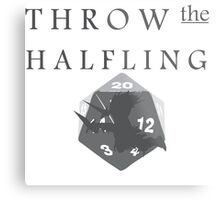 """""""THROW THE HALFLING!"""" -Dungeons and Dragons- Metal Print"""