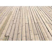 Deck Photographic Print