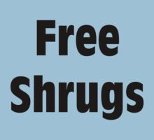 Free Shrugs by Merwok