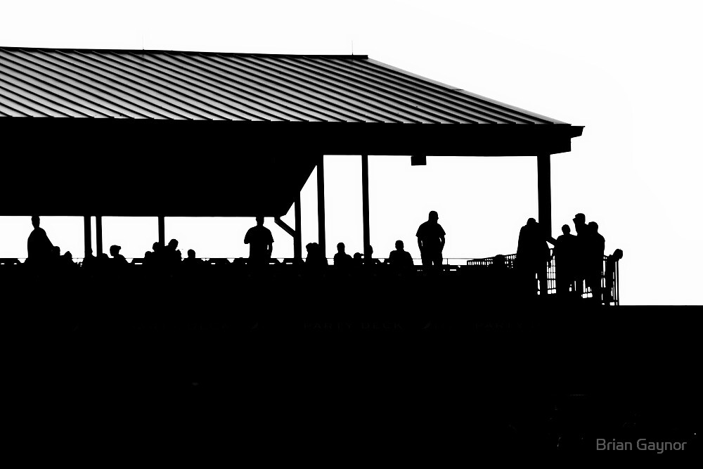 Silhouettes on the Deck by Brian Gaynor