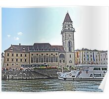 Town Hall, Engelhartszell, Austria Poster