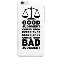The Balance Paradox iPhone Case/Skin