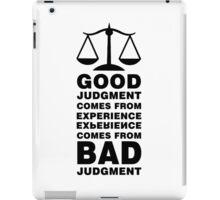 The Balance Paradox iPad Case/Skin