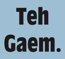 Teh Gaem Shirt by Merwok