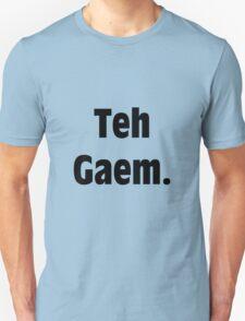 Teh Gaem Shirt T-Shirt