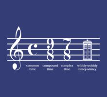 Timey Wimey Signature (White) by youddit