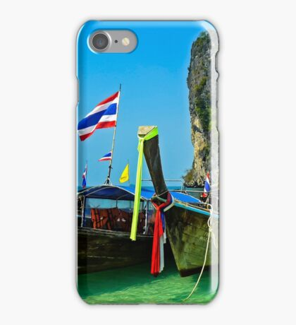 Island hopping, Krabi, Thailand iPhone Case/Skin
