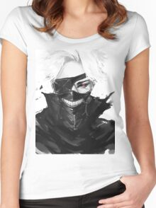 Kaneki Ken Women's Fitted Scoop T-Shirt