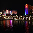 Las Vagas at night by Prettyinpinks