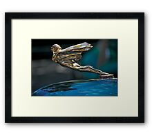 1934 Cadillac 'Goddess' Hood Ornament Framed Print
