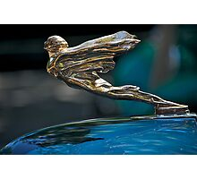 1934 Cadillac 'Goddess' Hood Ornament Photographic Print