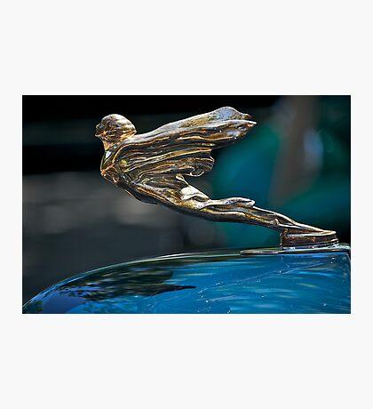 1934 Cadillac 'Goddess' Hood Ornament Photographic Print