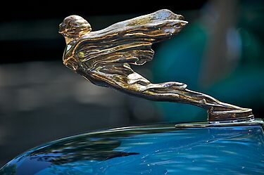 1934 Cadillac 'Goddess' Hood Ornament by DaveKoontz