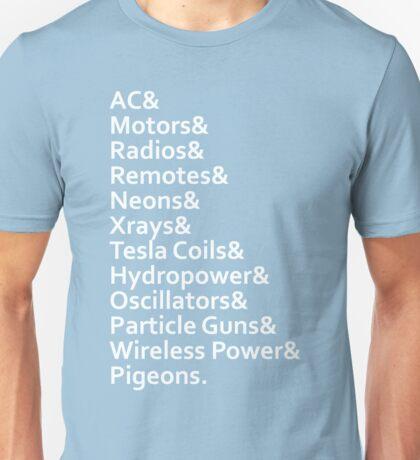 Tesla's Legacy Unisex T-Shirt