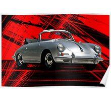 1965 Porsche Cabriolet 356 Poster