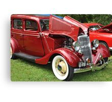 Spicy Red '34 Coup  Canvas Print