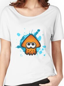 Splatoon Squid on Ink Women's Relaxed Fit T-Shirt