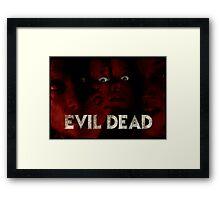 Evil Dead (remake) poster Framed Print