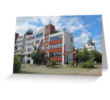 Luther-Melanchthon-Gymnasium in Wittenberg Greeting Card