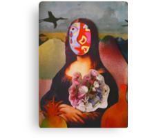 Weeping Mona Lisa Canvas Print