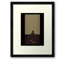Breaking Bad tortoise Framed Print
