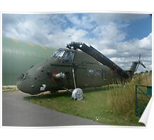 Wessex Helicopter at Tangmere Poster