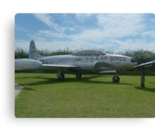 US Air Force at Tangmere Canvas Print