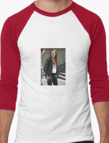 ALYCIA DEBNAM CAREY Men's Baseball ¾ T-Shirt