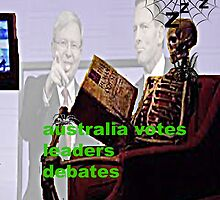 Australia votes leaders debates by DMEIERS