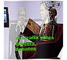 Australia votes leaders debates Poster
