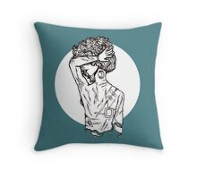 backlash Throw Pillow