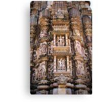 Temples of Khajuraho Canvas Print