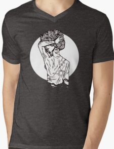 backlash Mens V-Neck T-Shirt
