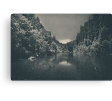 When I Felt Your Heart Beat with Mine Canvas Print