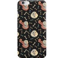 Skelebros Pattern iPhone Case/Skin