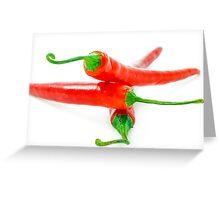 Chili Greeting Card