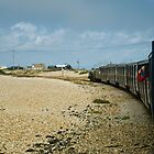 Leaving Dungeness by Nigel Bangert