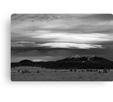 San Francisco Peaks From Williams Canvas Print